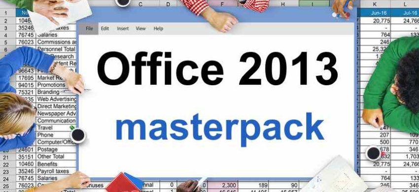 Pack 5 cursos online Office 2013